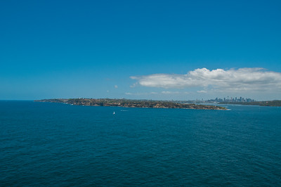 South Head from North Head, Sydney Harbour