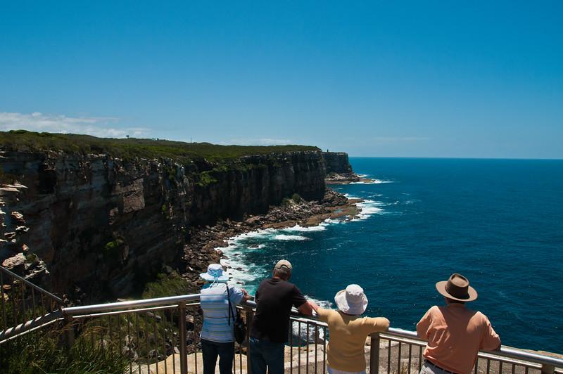Cliffs at North Head