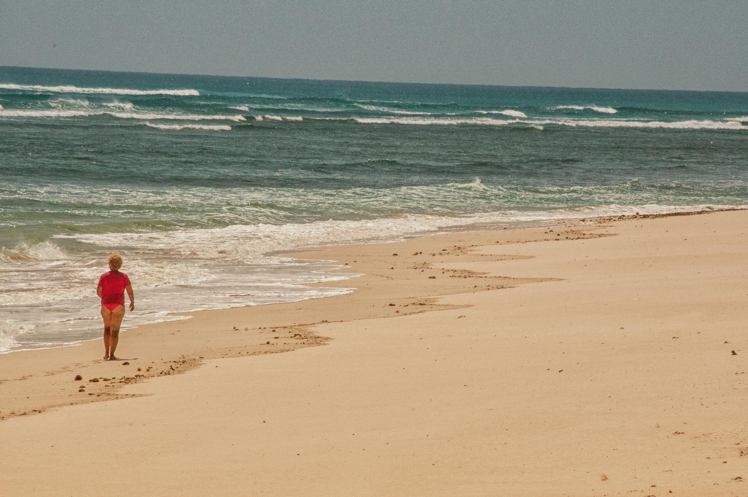 Chris on the beach