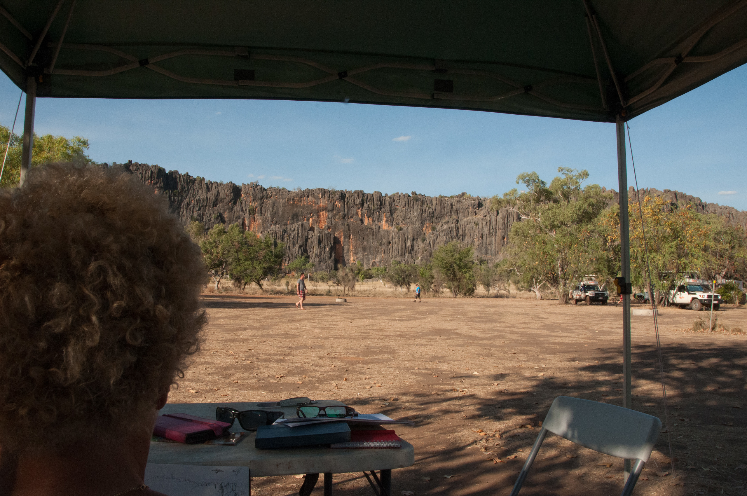 View from our campsite at Windjana