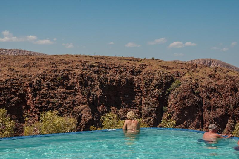 Lake Argyle Resort swimming Pool