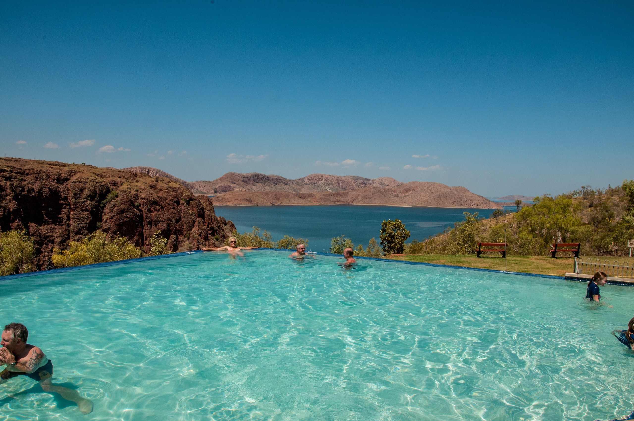 Lake Argyle Resort swimming Pool