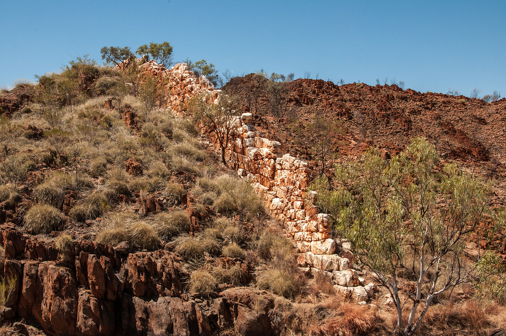 China Wall, Hall's Creek