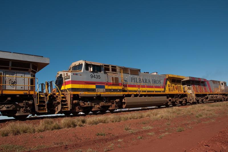 Tom Price to Dampier Railway