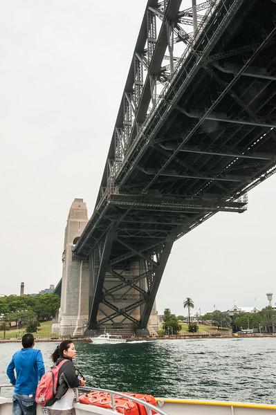 On the Parramatta Ferry