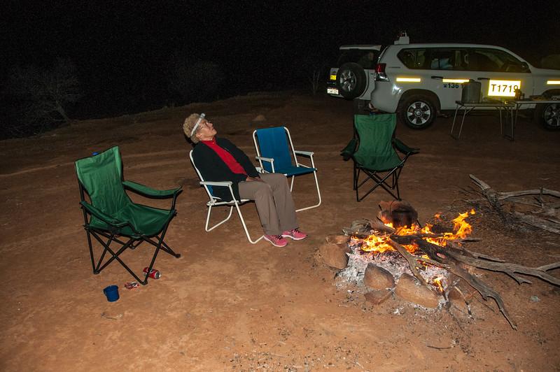 Round the campfire