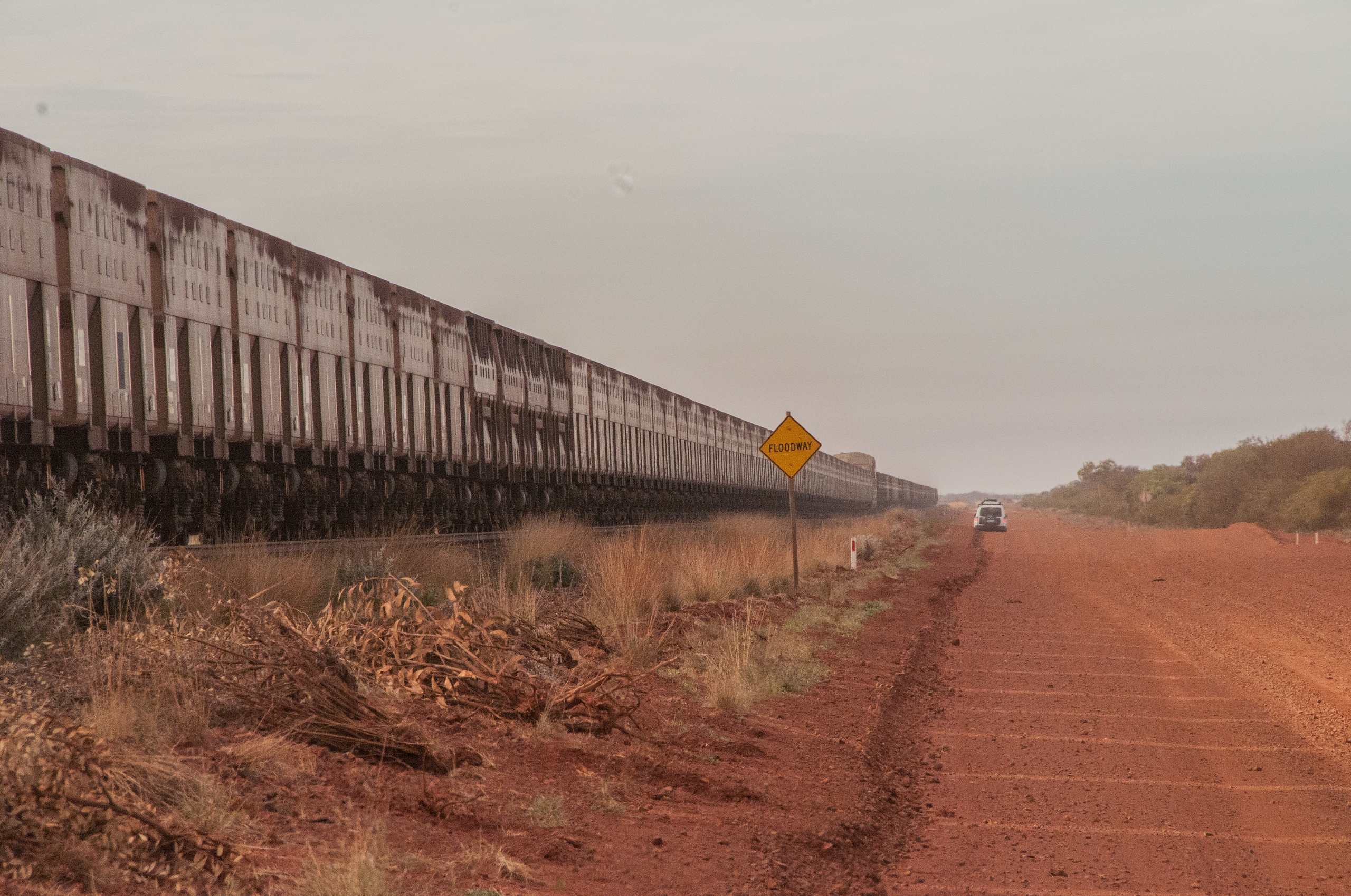 Newman to Port Hedland Railway