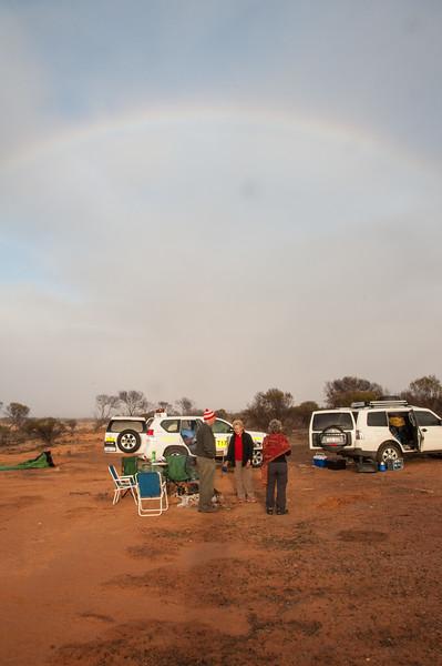 Breaking camp north of Mullewa