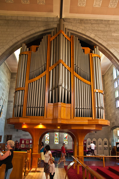 Organ in Nelson Cathedral