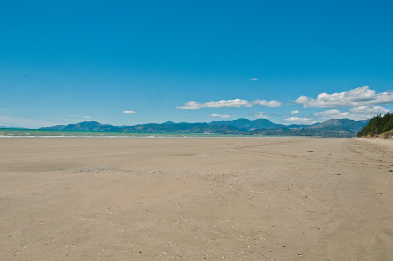 Beach at Rabbit Island