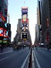 0635 - Times Sq 10 28 01 sunset, fork