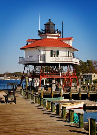 Drum Point Lighthouse, Solomons Island, Maryland