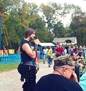 At the Ohio Renaissance Festival  Yashica D TLR