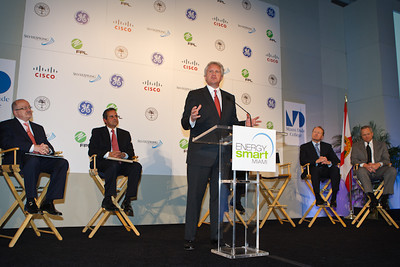 Mayor Diaz Energy Efficiency Press Conference