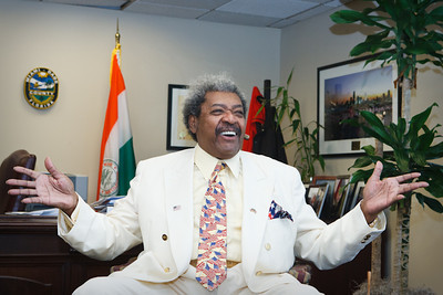 Mr. Don King the Mayor and Commissioner Michelle Spence-Jones