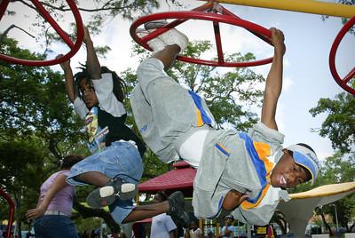Kids at Virrick Park