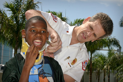 April 22,2004 Chief Allan Joyce at Bring your Child to Work Day. All Rights Reserved. Personal or editorial use only, not commercial use.