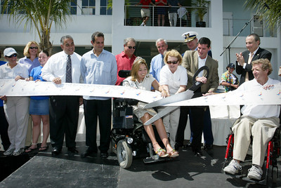 Grand Opening of Shake A Leg Miami April 23,2004.