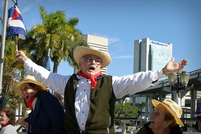 February 6,2004 Jose Marti Day Parade.