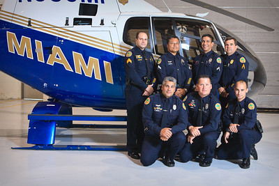 Miami Police Air1 Helicopter pilots.
