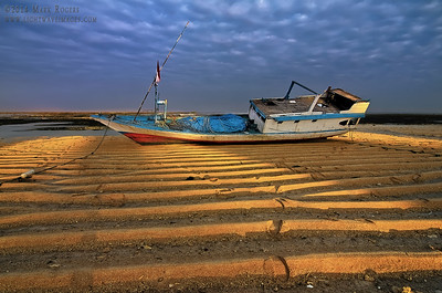 Fishing boat at sunrise. Nembrala beach, Rote Island, Indonesia.