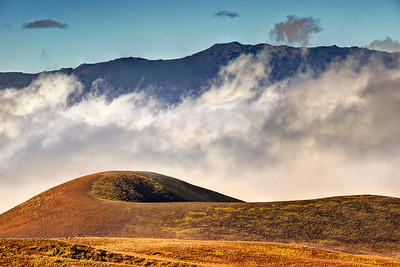 """Hualalai & Cinder Cone""  Big Island Hawaii."