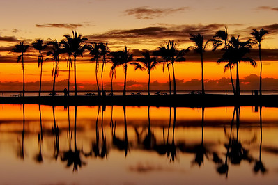 """Anaehoomalu Sunset""  Big Island Hawaii."