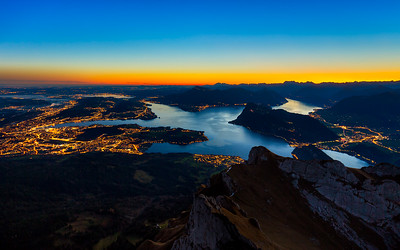 Break of dawn / Pilatus, Switzerland
