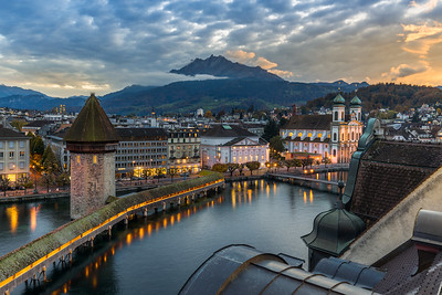 Signature shot / Lucerne, Switzerland
