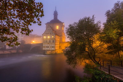 A foggy start / Bamberg, Germany