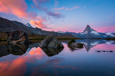 Lake Stelli / Zermatt, Switzerland
