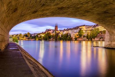 Mittlere Rheinbrücke / Basel, Switzerland