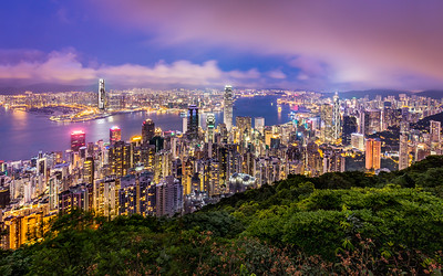 Elevated / Victoria Peak, Hong Kong