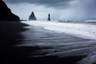 Black sand beach / Vik, Iceland