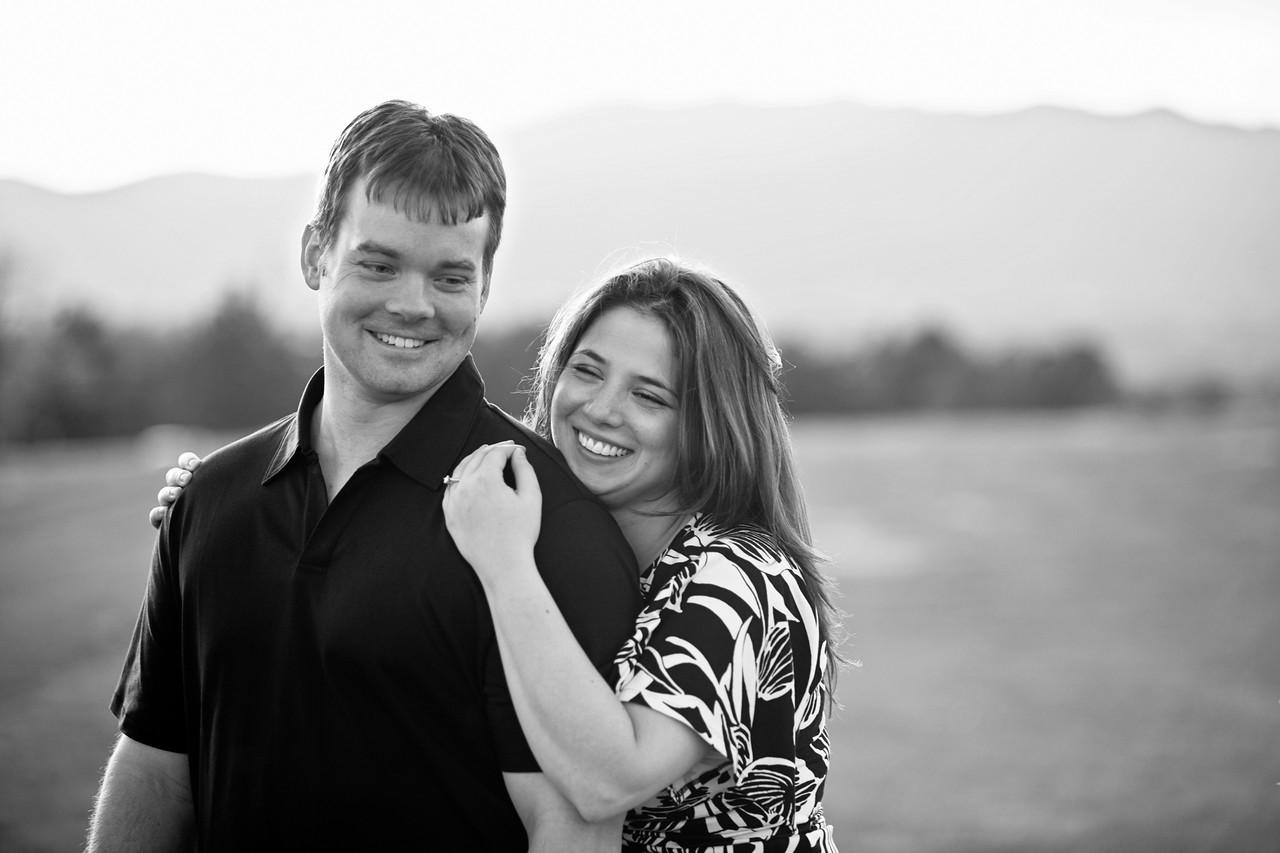 Engagement of Leila and Luke