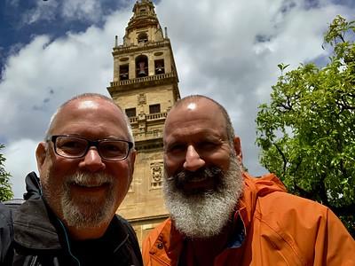 Outside the Mezquita-Catedral de Cordoba
