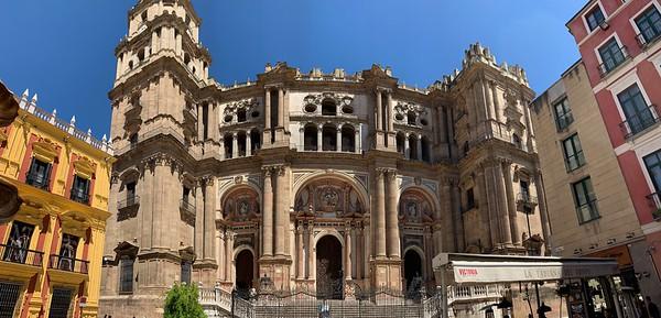 Catedral de la Encarnacion in Malaga, Spain