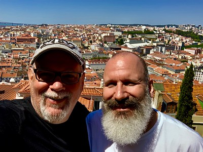 A beautiful day exploring Lisbon