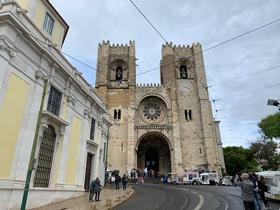 Main Cathedral (Se de Lisboa) in Lisbon
