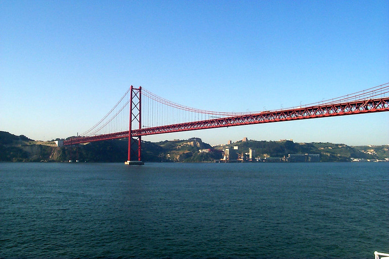 25 de Abril Bridge, Lisbon (Lisboa), Portugal