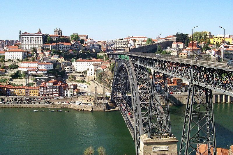 D. Luís I Bridge, Porto, Portugal