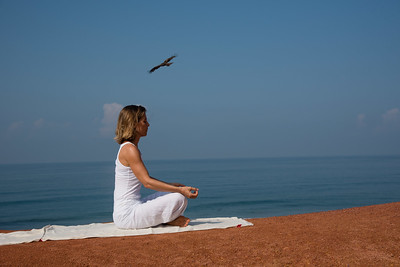 Posture de méditation (Kerala)