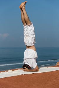 Sirsasana, la posture sur la tête  (Kerala)
