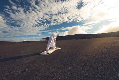 Posture sur la plaine des sables