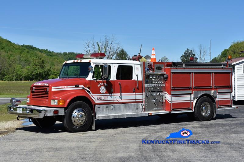 Middle Fork-Powell County Engine 52 <br /> 2000 International 4900/E-One 1250/1000<br /> Greg Stapleton photo