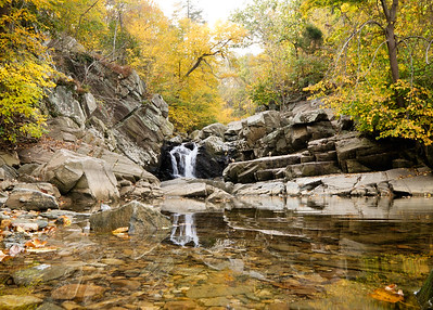 Scott's Run waterfall