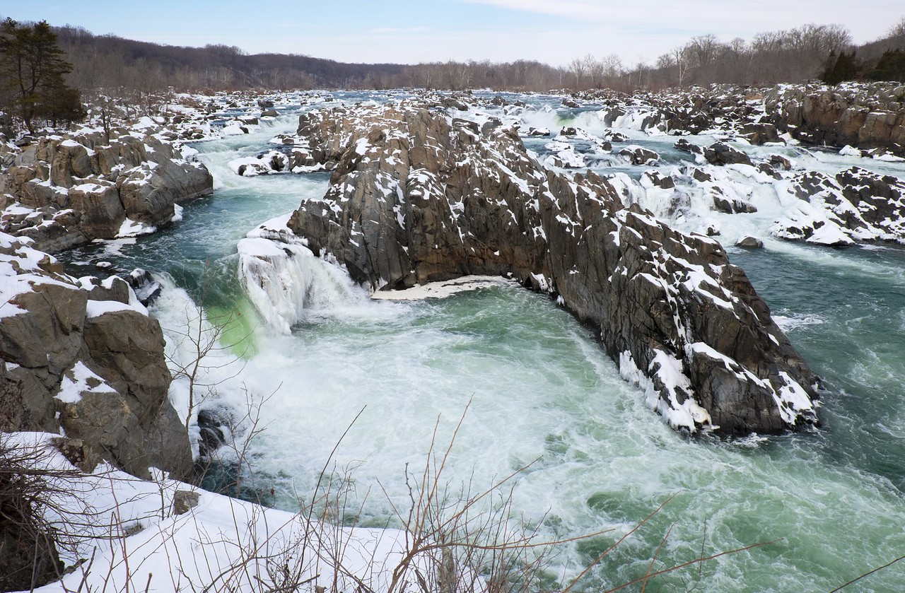 Icy Great Falls