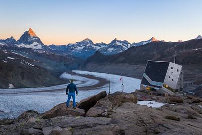 Matterhorn sunrise / Zermatt, Switzerland