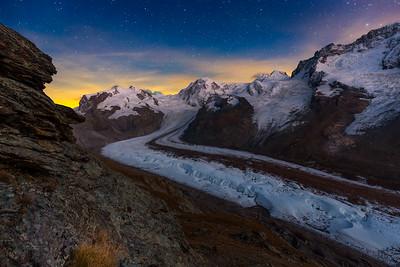 Gorner glacier / Zermatt, Switzerland