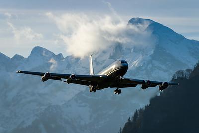 Boeing 707 / Salzburg airport, Austria